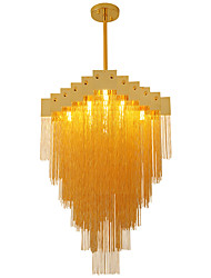 cheap -OBSESS® 60 cm Lovely Chandelier Metal Crystal Electroplated LED / Modern 110-120V / 220-240V