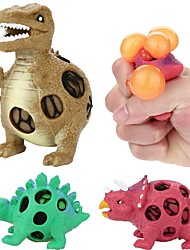 cheap -Squeeze Toy / Sensory Toy Stress Reliever Dinosaur Focus Toy Squishy Decompression Toys 3 pcs Child's All Boys' Girls' Toy Gift