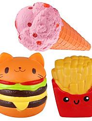 Недорогие -LT.Squishies Резиновые игрушки Устройства для снятия стресса Продукты питания Стресс и тревога помощи болотистый Декомпрессионные игрушки для Детские Все Мальчики Девочки