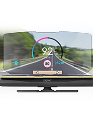 Недорогие -Ziqiao 6-дюймовый головной дисплей автомобильный телефон держатель GPS-проектор HUD для самостоятельного вождения путешествия