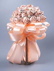 Недорогие -Свадебные цветы Букеты / Подарки Свадьба Другие материалы / Шелковый Как атласные / Кружево 11-20 cm