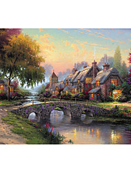 cheap -1000 pcs Novelty Church Jigsaw Puzzle Adult Puzzle Jumbo Wooden Adults' Toy Gift