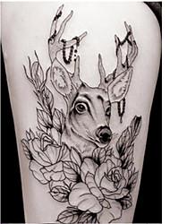 cheap -3 pcs Tattoo Stickers Temporary Tattoos Animal Series Body Arts Arm