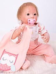 Недорогие -OtardDolls 20 дюймовый Куклы реборн Кукла для девочек Девочки как живой Ручная работа Безопасно для детей Non Toxic Взаимодействие родителей и детей с одеждой и аксессуарами