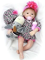 cheap -OtardDolls Reborn Doll Girl Doll Baby Girl 20 inch Silicone - Newborn lifelike Hand Made Child Safe Non Toxic Parent-Child Interaction Kid's Girls' Toy Gift / Hand Applied Eyelashes