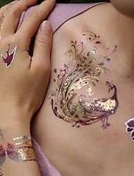 Недорогие -3 pcs Временные тату Временные татуировки Тату с животными / Романтическая серия Искусство тела рука