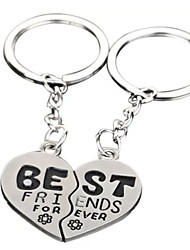 cheap -Keychain Gags & Practical Joke Heart School Special Designed Stainless steel 1 pcs Children's All Boys' Girls' Toy Gift