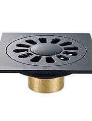 cheap -Drain  Design / Multifunction Modern Brass 1pc Single Floor Mounted