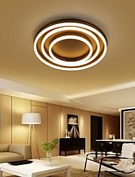 cheap -1-Light 50 cm Creative Dimmable Flush Mount Lights Aluminum Acrylic Circle Anodized Chic & Modern Modern 110-120V 220-240V FCC