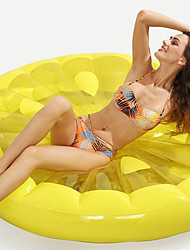 cheap -Watermelon Inflatable Pool Floats PVC Inflatable Durable Swimming Water Sports for Adults 143*143*20 cm