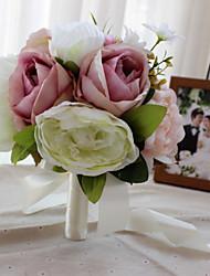 Недорогие -свадебные цветы уникальный свадебный декор выпускной вечер / свадьба индивидуальные материалы 0-10 см
