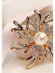 abordables -Femme Broche Mode Elégant Broche Bijoux Or / Incanardin Pour Mariage Soirée