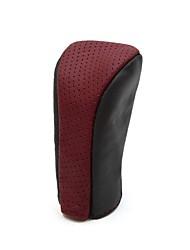 Недорогие -Ручка переключения автомобиля Мода Крышка рычага переключения передач автомобиляforУниверсальный Искусственная кожа