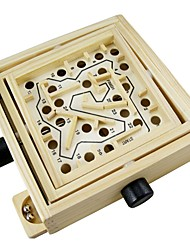 cheap -Magnetic Maze Stress and Anxiety Relief Wooden Child's Gift