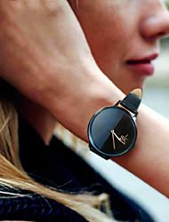 Недорогие -SK Жен. Наручные часы Японский Японский кварц Стеганная ПУ кожа Серый 30 m Защита от влаги Ударопрочный Аналоговый Дамы Мода - Серый Два года Срок службы батареи