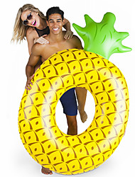 cheap -Pineapple Inflatable Pool Floats PVC Inflatable Durable Swimming Water Sports for Adults 182*116*36 cm