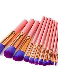 cheap -12pcs-makeup-brushes-professional-make-up-nylon-fiber-full-coverage-comfy-wooden-bamboo