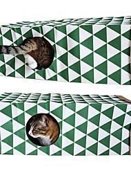Недорогие -Плюшевые игрушки Коты Животные Игрушки 1 Подходит для домашних животных Простая установка Декомпрессионные игрушки Искусственная кожа Подарок