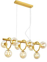 cheap -ZHISHU 9-Light 80 cm Creative Chandelier Metal Glass Island Painted Finishes Artistic Globe 110-120V 220-240V