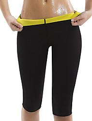 cheap -Body Shaper Slimming Pants Capris Leggings Sports Neoprene Yoga Exercise & Fitness Bikram Stretchy Hot Sweat Weight Loss Tummy Fat Burner Tummy Control For Men's Women's Leg Abdomen Training