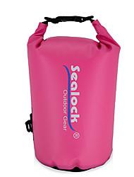 Недорогие -Sealock 10 L Водонепроницаемый сухой мешок Водонепроницаемая молния Пригодно для носки для Плавание Дайвинг Серфинг
