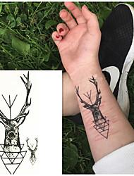 cheap -10 pcs Tattoo Stickers Temporary Tattoos Animal Series Body Arts Arm / Wrist / Shoulder