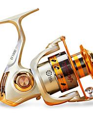 cheap -Fishing Reel Spinning Reel 5.5/1 Gear Ratio 12 Ball Bearings for Sea Fishing / Carp Fishing