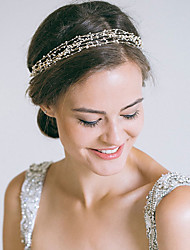 cheap -Pearl Head Chain with Lace-up 1 Piece Wedding / Special Occasion Headpiece