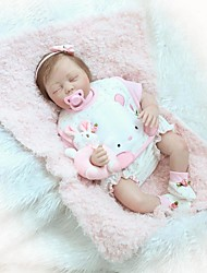 cheap -NPKCOLLECTION 24 inch NPK DOLL Reborn Doll Girl Doll Baby Girl Reborn Toddler Doll Newborn lifelike Gift Child Safe Non Toxic Cloth 3/4 Silicone Limbs and Cotton Filled Body with Clothes and