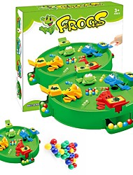 cheap -1 pcs Board Game Hungry Frog Frog Professional Parent-Child Interaction Funny Kid's Child's Adults' Boys' Girls' Toys Gifts