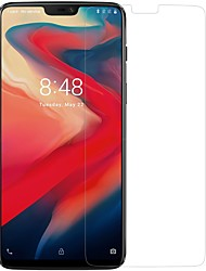 cheap -OnePlusScreen ProtectorOnePlus 6 High Definition (HD) Front & Camera Lens Protector 1 pc Tempered Glass