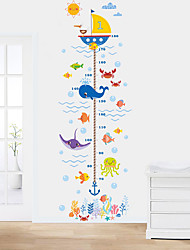 cheap -Decorative Wall Stickers / Height Stickers - Plane Wall Stickers Animals Living Room / Bedroom / Bathroom