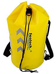 cheap -Sealock 35 L Sports & Leisure Bag Rucksack Rain Waterproof Wearable for Hiking Camping