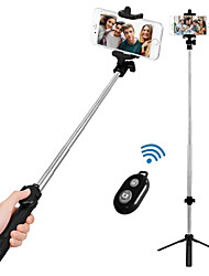 cheap -VORMOR Selfie Stick Bluetooth Extendable Max Length 77 cm For Android / Universal / iOS Android / iOS