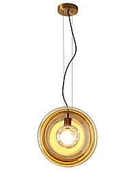 cheap -ZHISHU Geometric / Mini / Novelty Pendant Light Ambient Light Painted Finishes Metal Glass Creative, New Design 110-120V / 220-240V Bulb Included / E26 / E27