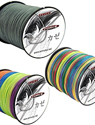 cheap -PE Braided Line / Dyneema / Superline Fishing Line 500M / 550 Yards PE 80LB 70LB 60LB 0.1-0.5 mm Sea Fishing Fly Fishing Bait Casting / Ice Fishing / Jigging Fishing / Freshwater Fishing / 50LB