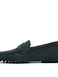 abordables -Homme Chaussures Formal Daim Printemps / Eté Mocassins et Chaussons+D6148 Noir / Vin / Bleu clair / De plein air / Bureau et carrière / Chaussures en daim / EU40