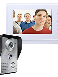 cheap -MOUNTAINONE SY819MKW11 7 Inch Video Door Phone 7 inch Hands-free 700 TV Line One to One video doorphone