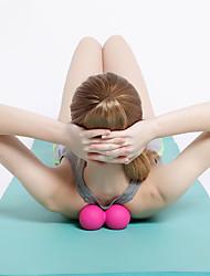 Недорогие -Двойной массажный ролик TPE Массаж Йога Аэробика и фитнес Тренировка в тренажерном зале Для