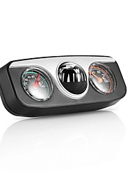 cheap -Onever Mini 3 in1 Guide Ball Built-in Auto Compass Thermometer Hygrometer Decoration Ornaments Car Interior Accessories