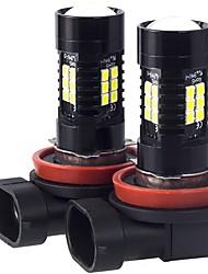 Недорогие -2pcs H9 / H11 / H8 Автомобиль Лампы 21 W SMD 3030 2100 lm 21 Светодиодная лампа Противотуманные фары For Volkswagen / Toyota / Honda Odyssey / Fit / Civic Все года