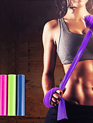 cheap -Exercise Resistance Bands Emulsion Extended Stretchy Thick Strength Training Physical Therapy Yoga Pilates Fitness For Home Office