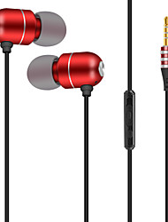 cheap -JTX S901 Wired In-ear Earphone Wire Null with Microphone with Volume Control Mobile Phone