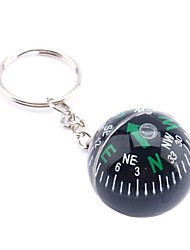 cheap -28mm Ball Compass Keychain Liquid Filled Compass Navigator tourist For Hiking Camping Travel Outdoor Survival