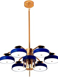 cheap -ZHISHU 6-Light 60 cm Mini Style Chandelier Metal Cluster Electroplated / Painted Finishes Artistic / Modern 110-120V / 220-240V