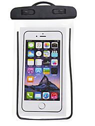 abordables -Sac de téléphone portable Mobile Bag Phone pour iPhone X iPhone XS Pluie Etanche Antidérapant Zip étanche 6.5 pouce PVC 5 m