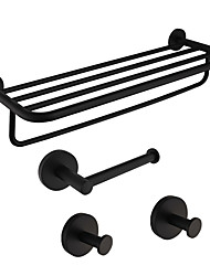 cheap -Bathroom Accessory Set  Design Traditional Stainless Steel / Iron Bathroom Wall Mounted