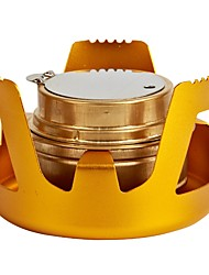 cheap -Camping Stove Outdoor Includes Stand Mountaineering Travel Aluminium for 1 person Outdoor Hunting Fishing Hiking Camping Dark Grey Gold Green