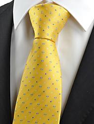 cheap -Men's Party / Work Necktie - Galaxy / Houndstooth