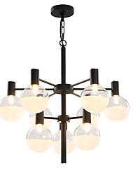 cheap -12 Bulbs LWD 65 cm Creative / New Design Chandelier Metal Glass Sputnik Painted Finishes Artistic / Retro 90-240V